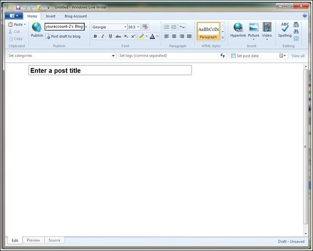 blank menu 2