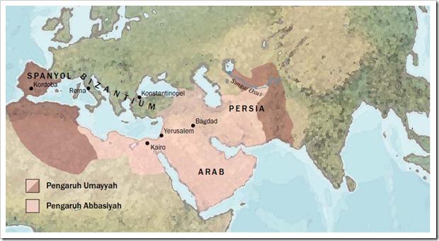 Peta arab lama