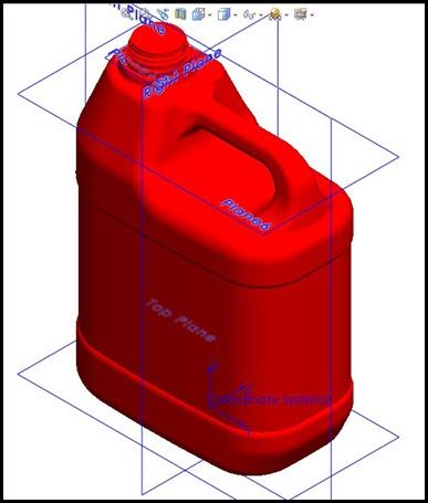 1- 3D BOTTLE